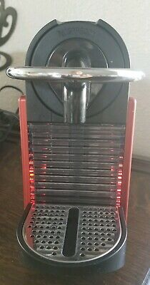 Nespresso Pixie D60 Espresso Coffee Capsule Machine Maker Red