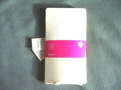 Bnip Gap Girls Cream Party Tights Size M/L = 7-10 Years