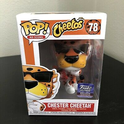 Funko Pop Hollywood HQ Chester Cheetah W/Cheetos Grand Opening 2019 Exclusive