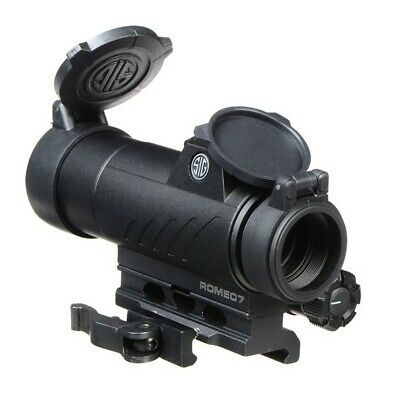 Sig Sauer ROMEO7 1X30 MM Full Size Red Dot Sight, 2 MOA, (SKU: SOR71001)