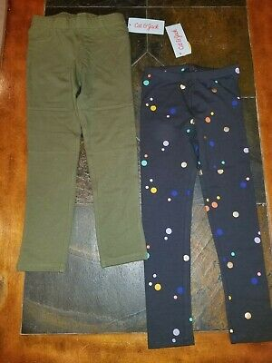 Lot of 2 pairs Cat and Jack Jeggings and Leggings 5T - NWT!