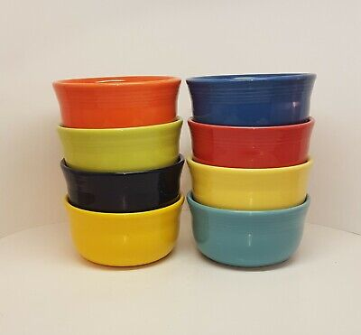 Fiestaware Mixed Colors Gusto Bowl Lot of 8 Fiesta Large 28 ounce bowls 8C14M3