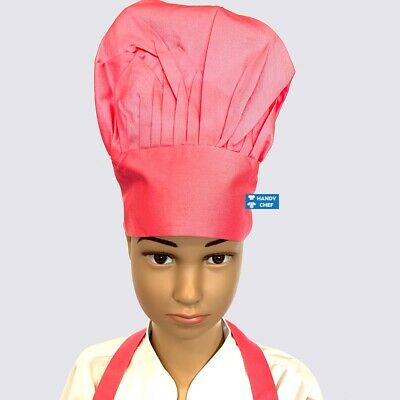 Kids Chef Hat - Pink- Kids Chef Caps - See Ebay store for Kids Chef Apron,Jacket