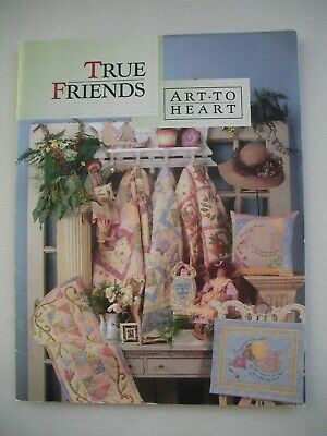 True Friends - Nancy Halvorsen - Quilting Applique Pattern Book