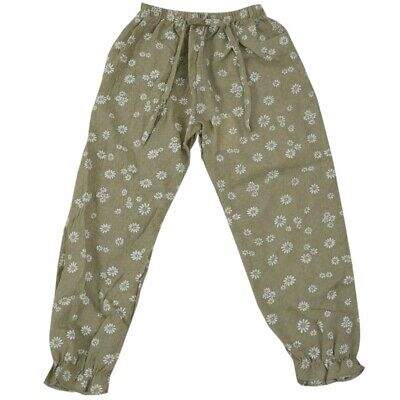Kids Children Baby Girls Trousers Child Casual Floral Bloomers Harem Pants  O8J3
