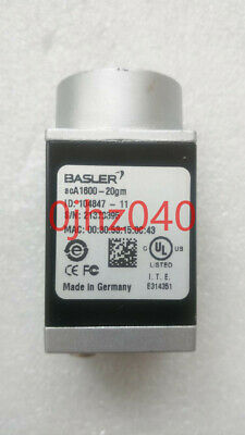 1PC Used BASLER acA1600-20gm Industrial CCD black and white camera 2 megapixels
