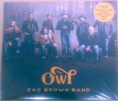 Zac Brown Band - The Owl - Brand New Sealed CD