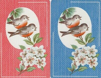 Vintage Swap Playing Cards - 2 Single - Birds - #12