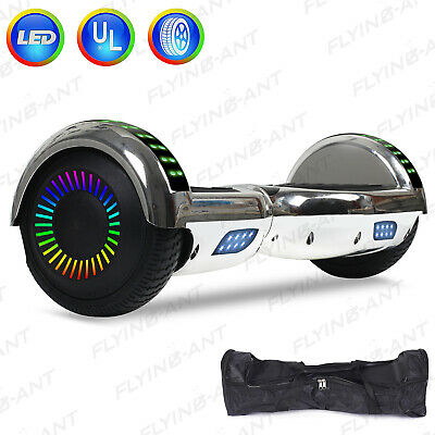 Bluetooth Hoverboard Electric Self Balancing Scooter Chrismas Best Gift W/ Bag