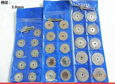 10X Diamond Cutting Off Disc Saw Blades Grinding Wheel for Dremel Rotary 18-50MM