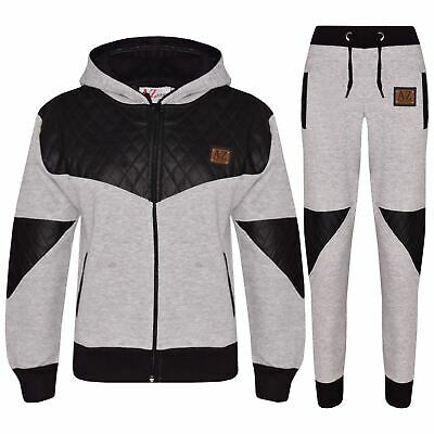 Kids Tracksuit Boys Girls Designer A2Z Project Zipped Top & Bottom Jogging Suit
