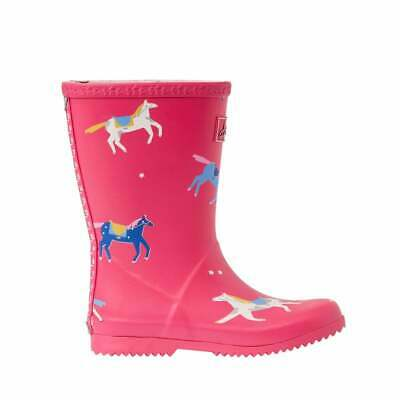 Joules Junior Girls Roll Up Welly