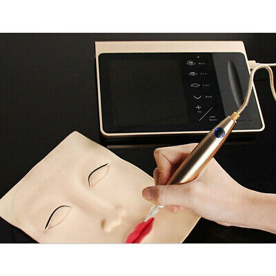 Digital Permanent Makeup Machine Eyebrows Lip Eyeliner Touch Screen Tattooing