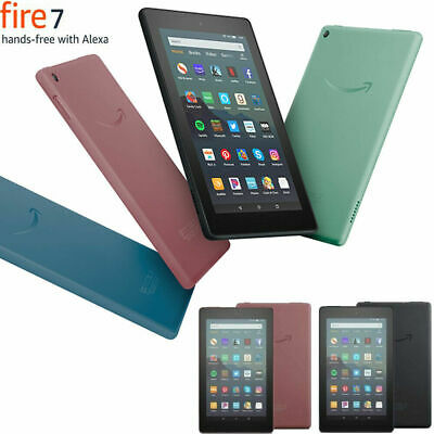 """Amazon Kindle Fire 7"""" Tablet (9th Gen) 16GB Wi-Fi With Alexa Fire OS New Model"""