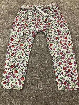 Girls Next Cotton Trousers. 2-3 Years