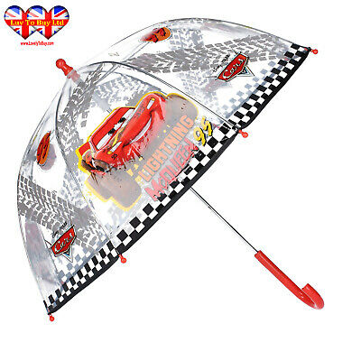 Disney/Pixar Cars Transparency Dome Umbrella,Kids Umbrella,Officially Licensed