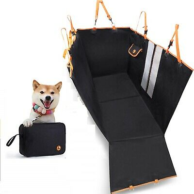 MOVEPEAK Dog Car Seat Cover, Waterproof Pet Dog Hammock Protector for Car #AZG