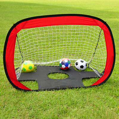 Kids Children Portable Soccer Goal Pop Up Net Sports Training Football Gate UK