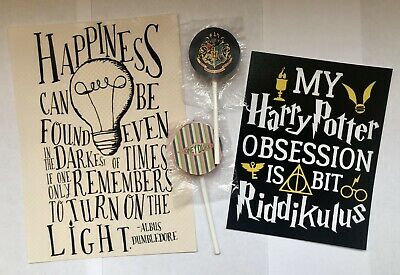 Harry Potter Mini Posters and Sweets Gift Box Christmas