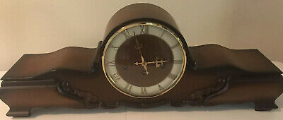 FHS German Floating Balance Westminster Chime Mantle Deco Clock 350-020 Movement