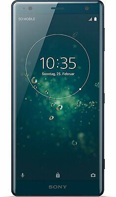Sony Xperia XZ2 deep green  Single Sim Android ohne Vertrag Top Zustand