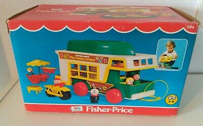 Fisher price vintage 994 rare with box!!