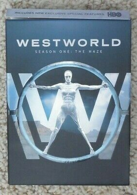 Westworld: The Complete First Season (DVD, 2017)