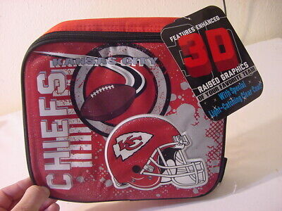 Nwt - Kansas City Chiefs Stay Hot/Cold Lunch Bag Gameday Bag 9X10X4