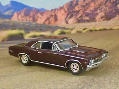1967 67 Chevy Chevelle SS V-8 Super Sport Muscle Car 1/64 Scale Limited Edit T
