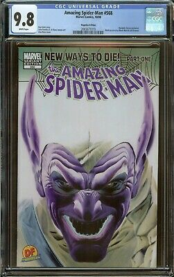 Amazing Spider-Man #568 CGC 9.8 Rare Negative Edition Variant