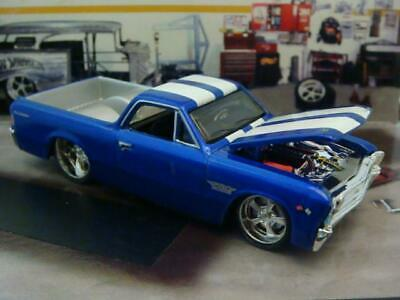 RESTO MOD 1967 67 Chevrolet El Camino V-8 SS Super Sport 1/64 Scale Ltd Edit V