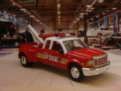 FIRE & RESCUE Ford F-Series Super Duty Tow Truck 1/64 Scale Limited Edition C