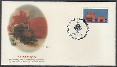 Canada Scott 839 Fleetwood FDC - Christmas 1979