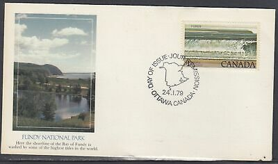 Canada Scott 726 Fleetwood FDC - 1979 National Park Definitive