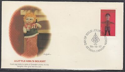 Canada Scott 841 Fleetwood FDC - Christmas 1979