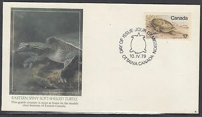 Canada Scott 813 Fleetwood FDC - Spiny Turtle