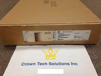 HP JE027A E4210-48 SWITCH New Retail