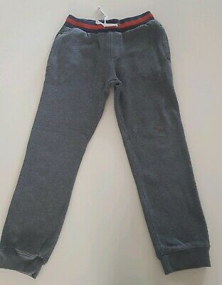 Boys Boden Grey Joggers 8-9 Years
