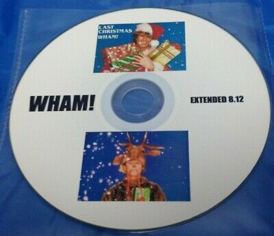Wham! George Michael Extended Version Cd - Last Christmas - An Xmas Present?