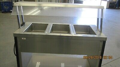 Caddy 3 Well Hot Food Line Server Model TF-603