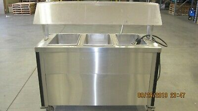 Caddy 3 Well Hot Food Line Server Model TF-623