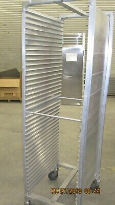 Aluminum Tray Rack with Wheels 40 Tray Capacity