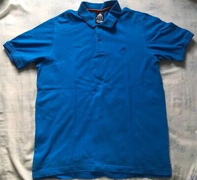 Authentic Adidas Vintage Polo T Shirt Sportswear Size L