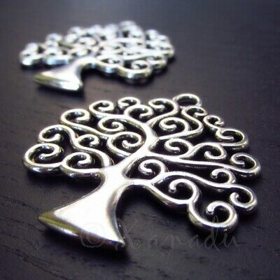 Tree Of Life Charms 31mm Antiqued Bronze Tree Pendants C2601-2 5 Or 10PCs