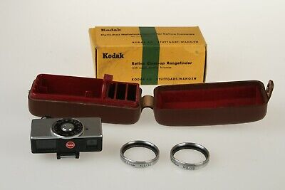 KODAK RETINA Close-Up RANGEFINDER w/ N Lenses, Boxed RARE Made In Germany