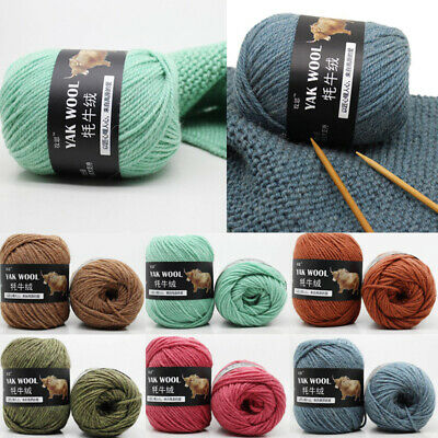 100 g/Balls Fashion Yarn Hand Knitting Yak Wool Wool Super Soft Crochet Yarn