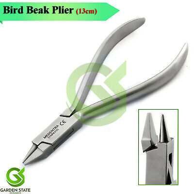 Orthodontic Bird Beak Jaw Plier Dental Ortho Arch-Wire Spring Bending Forming CE