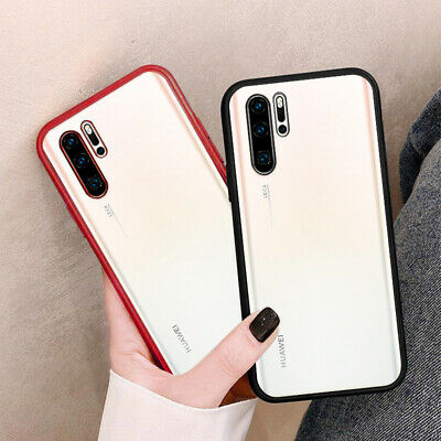 For Huawei Mate 30 20 Pro P30 P20 Lite Plating Matte Soft Clear Back Case Cover