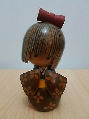 Japan Made Creative Kokeshi doll  (15 cm)