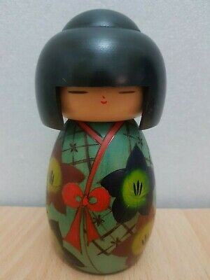 Japan Made Creative Kokeshi doll by (15 cm)